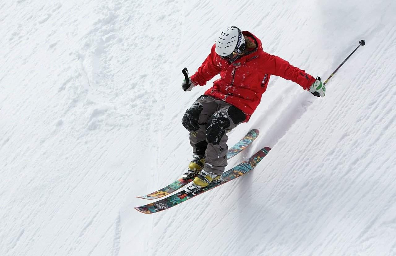 Ski-Fahrer